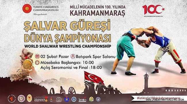 Dünya Şampiyonası Kahramanmaraş'ta