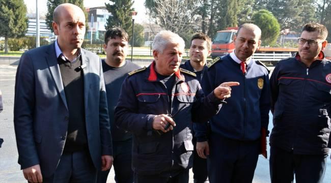 Kahramanmaraş'ta itfaiye ekipleri 2019'da 8 bin 174 olaya müdahale etti