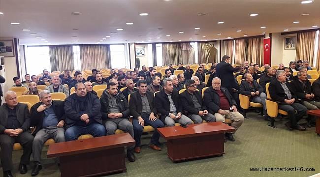 Kahramanmaraş'ta servis şoförlerine eğitim verildi