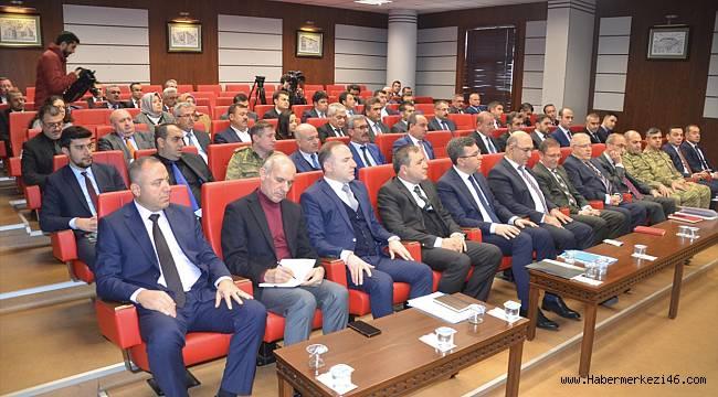 Kahramanmaraş'ta uyuşturucuyla mücadeleyle ilgili değerlendirme toplantısı yapıldı