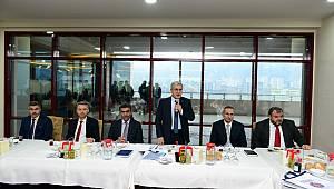 KSÜ Yönetimi Basınla Bir Araya Geldi