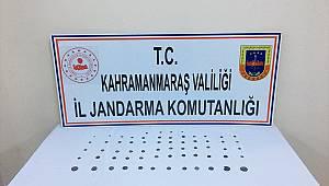 Kahramanmaraş'ta tarihi eser kaçakçılığı operasyonunda 2 gözaltı