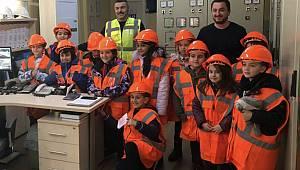 Öğrencilerden Çatalca RES'e Ziyaret