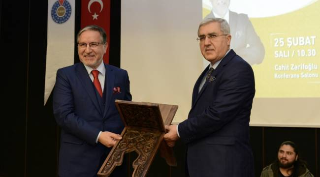 Prof. Dr. Karataş KSÜ'de Konferans Verdi