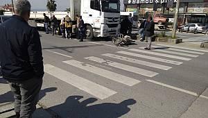 Tırla motosiklet çarpıştı: 1 ölü
