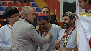 Türkiye Kulüpler Kupası müsabakalarında dereceye giren sporcular ödüllendirildi