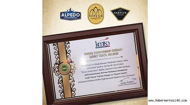 Kervan Dondurma Üretimindeki Başarısını Tescilledi