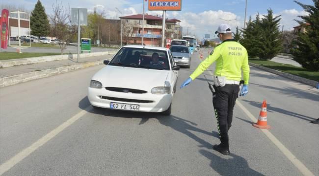 Elbistan'da şehir giriş çıkışları kapatıldı