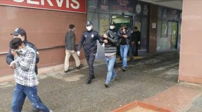 Kahramanmaraş'ta 6 hırsızlık şüphelisi yakalandı