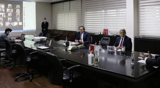 """KMTSO Meclisi """"VİDEO KONFERANS"""" Aracılığı İle Toplandı"""