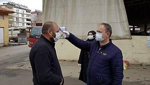Semt Pazarı'nda koronavirüs tedbirleri alındı
