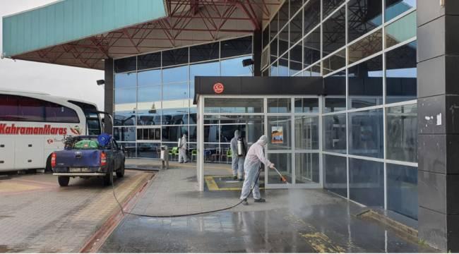 Terminaller Dezenfekte Edildi