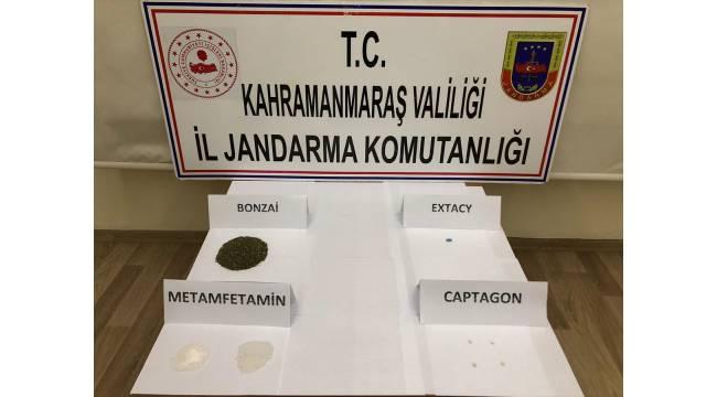 Kahramanmaraş'ta uyuşturucu operasyonunda 8 şüpheli yakalandı