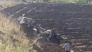 Otomobil kontrolden çıkıp takla attı: 2 ölü