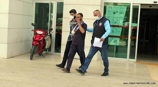 Polisten kaçan cezaevi firarisi çatıdan düşerek yaralandı