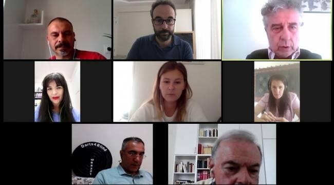Erasmus+ DARTS4BLIND Proje Toplantısı Video Konferans Yöntemiyle Gerçekleştirildi