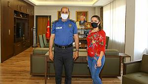 Akdeniz Gazeteciler Cemiyeti'den Emniyet Müdürü Cebeloğlu'na ziyaret!