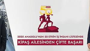 Anadolu'nun En Etkili 50 İş İnsanları Arasında M.Hanefi Öksüz ve Ahmet Öksüz Birlikte Yer Aldı