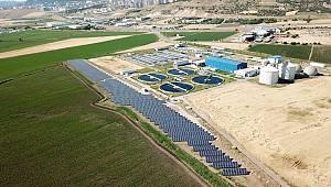 Kahramanmaraş Atık Su Arıtma Tesisine Güneş Enerjisi Santrali Kuruldu