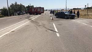 Kahramanmaraş'ta hafif ticari araç ile otomobil çarpıştı: 1 ölü, 3 yaralı