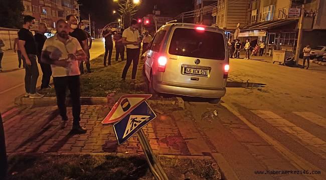 Kahramanmaraş'ta hafif ticari aracın çarptığı yaya hayatını kaybetti