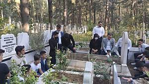 Ülkücü Şehit Bleda Aybars Tekin ölümünün 40. Yıl dönümünde mezarı başında anıldı!