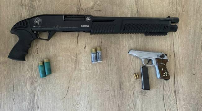 Kahramanmaraş'ta arkadaşını silahla yaralayan kişi tutuklandı