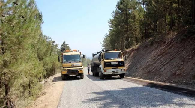 Yol yapım ve onarım çalışmaları aralıksız devam ediyor