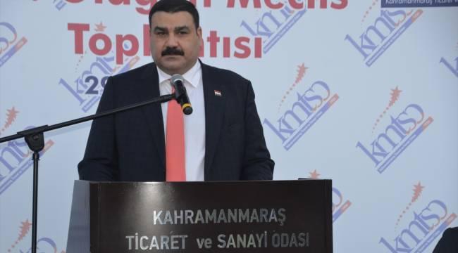 Irak Ticaret Ateşesi Salman, Kahramanmaraş'ta iş insanlarıyla toplantı yaptı
