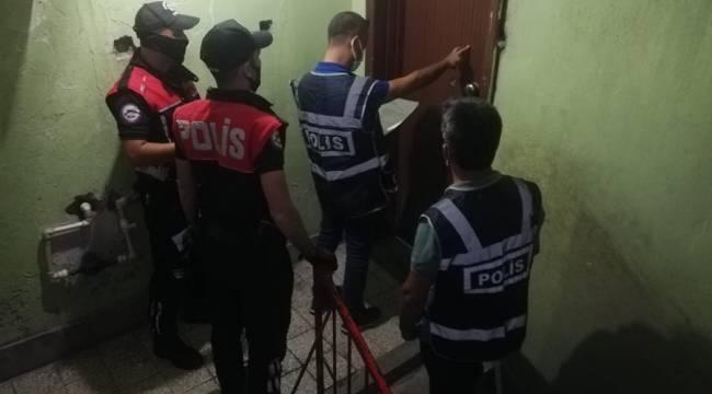 Kahramanmaraş'ta aranan 103 kişi yakalandı