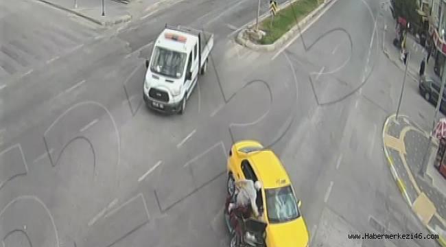 Trafik kazaları kamerada