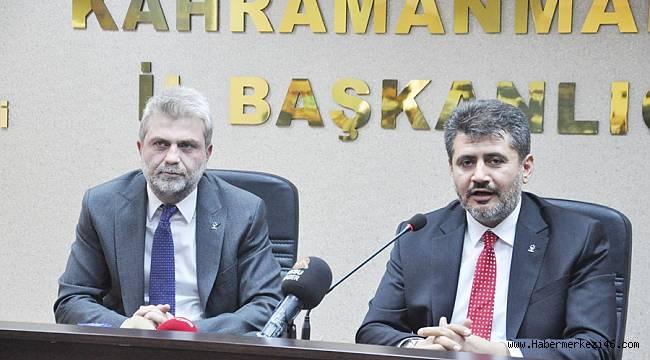 AK Parti İl Başkanı Fırat Görgel mazbatasını alarak göreve resmen başladı
