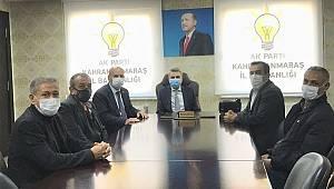 Başkan Görgel'e 'Lahana'lı tebrik ziyareti