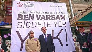 Başkan Güngör'den Şiddete Hayır Mesajı