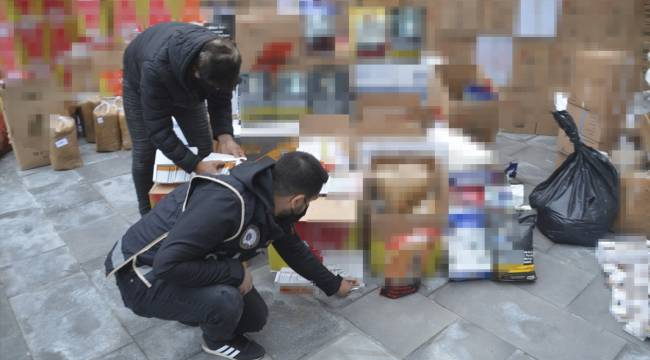 Kahramanmaraş'ta kaçakçılık operasyonunda 3 zanlı gözaltına alındı