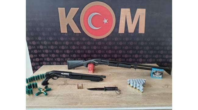 Kahramanmaraş'ta silah kaçakçılığı operasyonu: 4 gözaltı