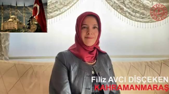 Kahramanmaraş'ta yılın öğretmeni seçildi