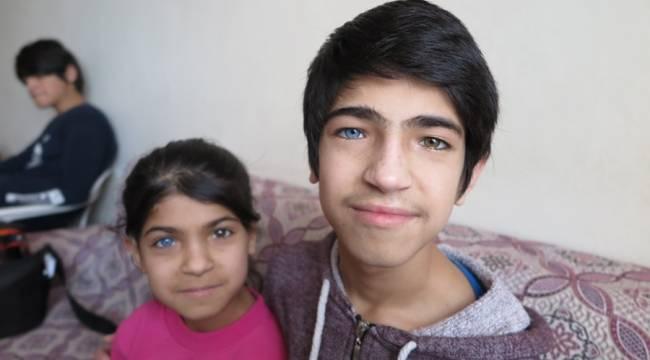 Renkli gözlü kardeşlerden 'EBA' çağrısı