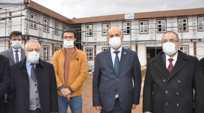 AK Parti Kahramanmaraş Milletvekili Kılıç, Afşin'deki yatırım ve projeleri inceledi