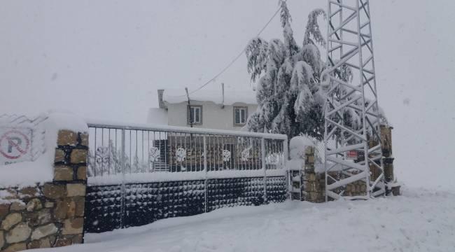 Kahramanmaraş'a beklenen kar geldi