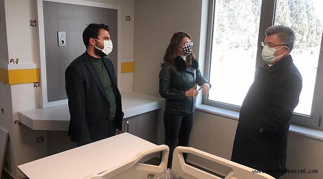 Milletvekili Aycan, Akademi Hastanesinde incelemelerde bulundu!
