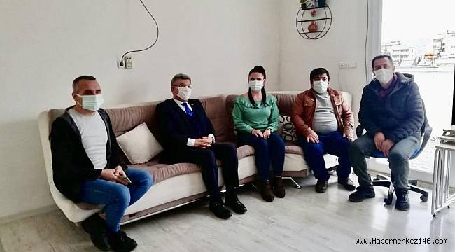 Milletvekili Aycan'dan KMAGC'ye ziyaret