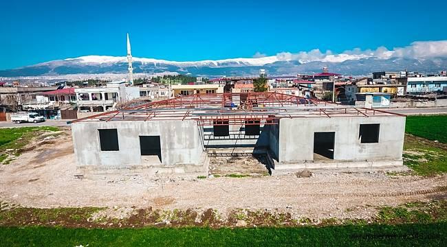 Dulkadiroğlu'ndan Bir Sosyal Tesiste Aksu Mahallesine