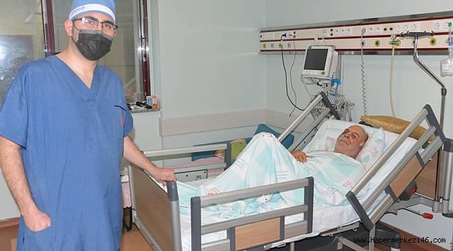 Testere İle Yüzü Parçalanan Hasta KSÜ'de iyileşti