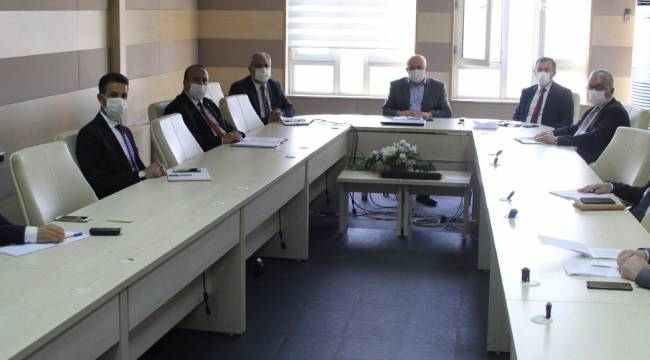 2021 'Yunus Emre ve Türkçe Yılı' Etkinlikleri Toplantısı Yapıldı