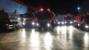 Kahramanmaraş'ta tekstil fabrikası yandı