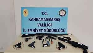Kahramanmaraş'ta 12 maganda yakalandı