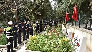 Kahramanmaraş'ta şehitlik ziyaret edildi