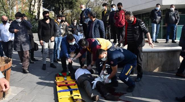Kahramanmaraş'ta tabancayla ateş edilen kişi yaralandı