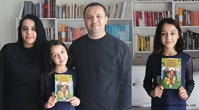 Pandemi 9 yaşındaki çocuğa kitap yazdırdı